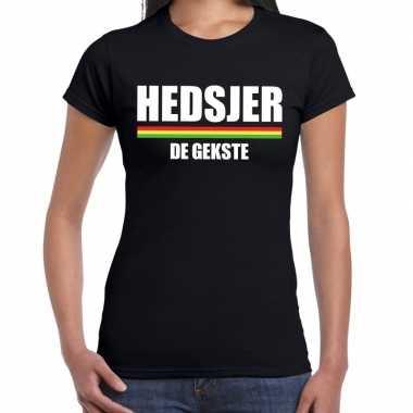 Carnaval hedsjer gekste t shirt zwart dames2020