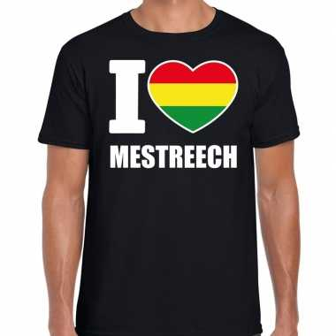 Carnaval i love mestreech t shirt zwart heren2020