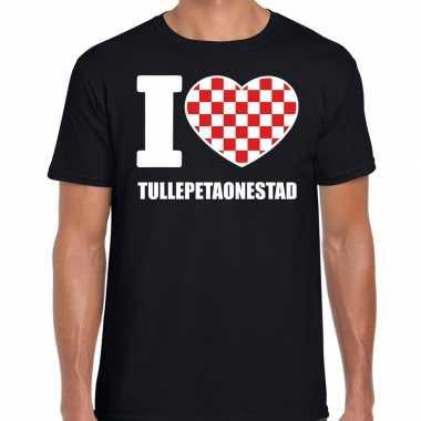 Carnaval i love tullepetaonestad t shirt zwart heren2020