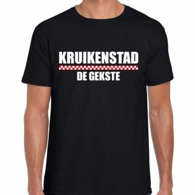 Carnaval kruikenstad gekste t shirt zwart heren2020