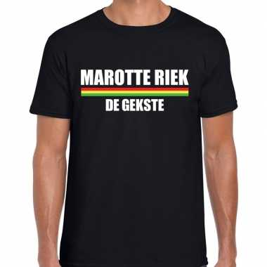 Carnaval marotte riek gekste t shirt zwart heren2020