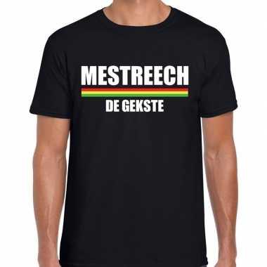 Carnaval mestreech gekste t shirt zwart heren2020