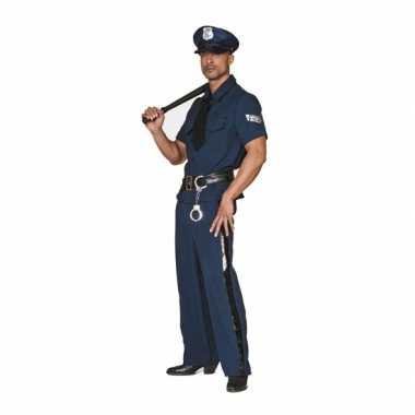 Grote maten politie carnavalskleding2020