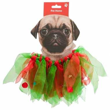 Huisdieren kerstcarnavalskleding kerstelf carnavalskleding honden2020