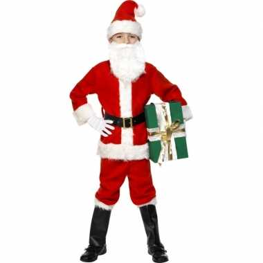 Kinder kerstman carnavalskleding luxe2020