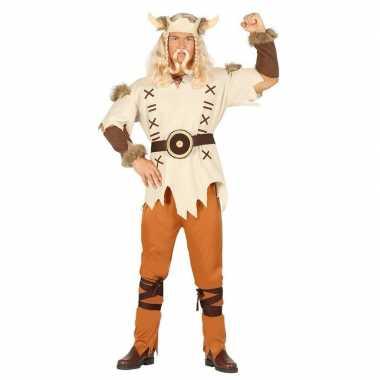 Lichtbruin viking carnavalskleding heren2020