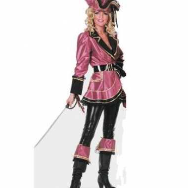 Luxe piraten carnavalskleding dames2020