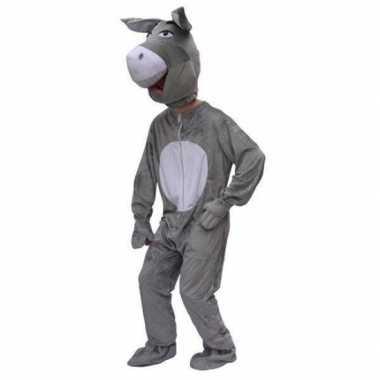 Pluche ezel carnavalskleding volwassenen2020