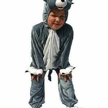 Pluche kat carnavalskleding kinderen2020