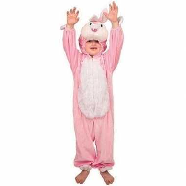 Pluche konijn carnavalskleding kinderen2020