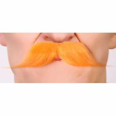 Snor koningsdag carnavalskleding accessoire oranje2020