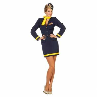 Stewardess carnavalskleding dames2020