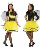 Dierencarnavalskleding bij bijen verkleed jurk jurkje meisjes