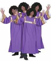 Gospel zanger carnavalskleding heren
