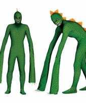 Reptielen monster carnavalskleding mannen